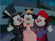 Warner siblings on Halloween