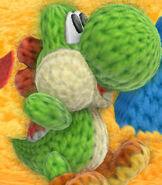 Yoshi in Yoshi's Woolly World