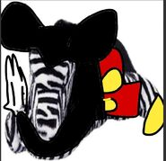 Zedbus as Mickey Mouse