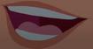 Ariel's mouth screen