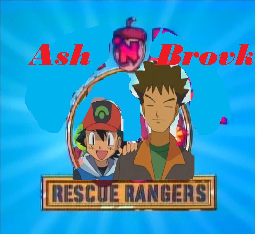Ash n Brock Rescue Rangers