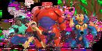 Big Hero 6 team