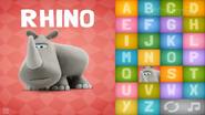 Clay Rhinoceros