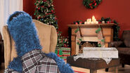 Fireside Christmas Story with Cookie Monster