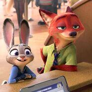 Judy and nick meet flash