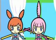 Kat and Ana in WarioWare, Inc.- Mega Party Game$!