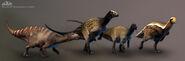 PK Tenontosaurus