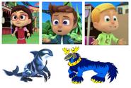 Rorcal, Amaya, Connor, Greg & Lumpzilla