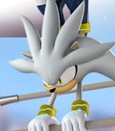Silver the Hedgehog in Mario and Sonic at the London 2012 Olympic Games