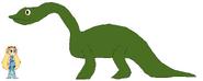 Star meets Brontosaurus
