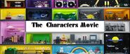The Characters Movie (in End Credits) title