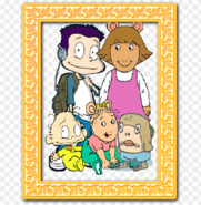 A picture of the family Tommy D W Dil Kate and Tyler SpongeBob SquarePants