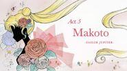 Act 5. Makoto, Sailor Jupiter (Title Card)