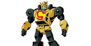 Bumblebee as The Iron Giant