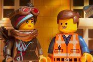 Emmet Brickowski and Lucy