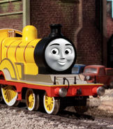 Molly with CGI face 2