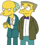 Mr. Burns and Waylon Smithers