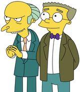 Mr. Burns and Waylon Smithers