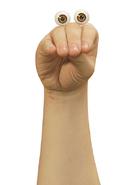 Oobi Nick Jr Noggin TV Show Series Hand Puppet Character Nickelodeon