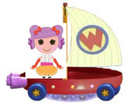 Peanut Big Top Riding the Wonder Pets Flyboat