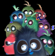 The Evil Hatchlings as Electoons