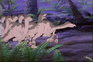 The Land Before Time 4 Struthiomimus