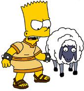 Bart and Sheep