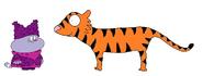 Chowder meets Tiger