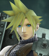Cloud Strife in Super Smash Bros. for Wii-U and 3DS