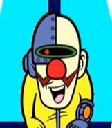 Dr. Crygor in WarioWare, Inc. Mega Party Game$!