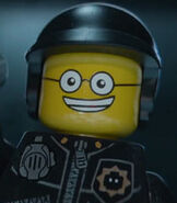 Good Cop in The Lego Movie