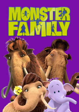 Monster Family (LUIS ALBERTO VIDEOS GALVAN PONCE Style) Poster.png