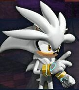 Silver the Hedgehog in Sonic Rivals 2