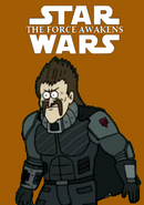 Star wars episode 7 thecartoonman12 style poster