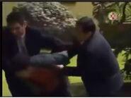 Artemio's defeat (in La Rosa de Guadalupe La Sonrisa de un Ángel)
