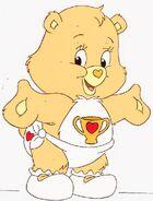 Champ Bear as a baby