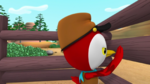 Deputy Peck pecking