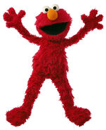 Elmo as Old Doc Lob