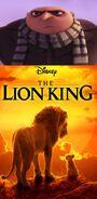 Gru Hates The Lion King (2019)