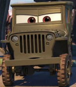 Sarge in Cars 3
