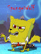 Spongebob the werewolf