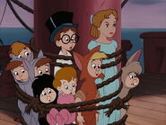 Wendy, John, Michael, and the Lost Boys (Peter Pan)