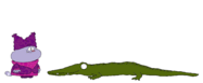 Chowder meets Nile Crocodile