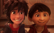 Hiro Hamada and Miguel Rivera (Big Hero 6 and Coco)