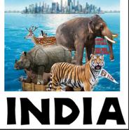 India (Madagascar) Poster