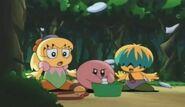 Kirby, Tiff and Tuff looking