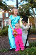 Lorien, Bladen, & Canyon were the Darling children Wendy, Jon, & Michael. 1