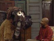 Oscar and Grundgetta as Snuffy in episode 2042