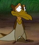 Petrie in The Land Before Time 2 The Great Valley Adventure