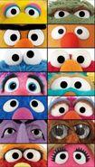 Sesame Street Muppets Eyes